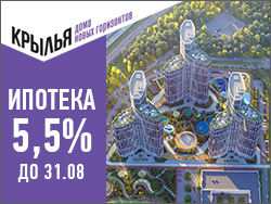 ЖК «Крылья». Ипотека от 5,5% до 31.08! Панорамные квартиры в Раменках